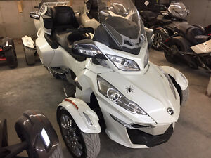 2014 Can Am Spyder RT-Ltd 1330 Triple