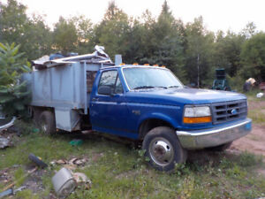 Parts or repair Commercial Ford F-350 with dump box