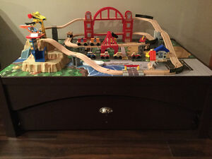 KidKraft Metropolis Train Table and Set Windsor Region Ontario image 2