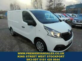 2017 Renault Trafic 1.6 SL27 BUSINESS PLUS DCI 120 BHP LOW MILES ONLY 45,000 MLS