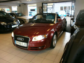 Audi A4 Cabriolet 1.8T Sport 2006 FSH FULL LEATHER * GREAT VALUE *