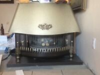 Natural gas fireplace great condition