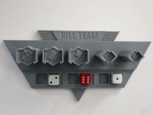 Warhammer 40k Kill Team Tokens + Token Holder