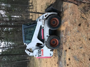 Bobcat Skid steer with backhoe attachment
