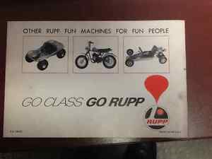 1972 RUPP Snowmobile Owners Manual London Ontario image 2