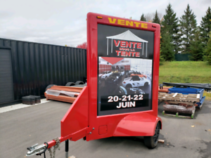 Advertising trailer