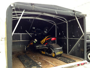 Ski-Doo & Trailer2003 Ski-Doo Rev 600 H.O. Was professionally se