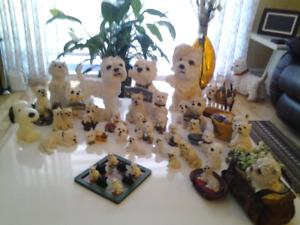 Collection de chien westieterrier