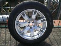 RANGE ROVER EVOQUE 18 '' ALLOY WHEELS AND TYRES X 4