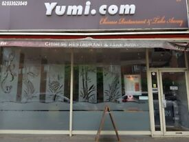 YUMI CHINESE RESTUARANT IN SOUTHGATE FOR QUICK SALE , REF: RB261