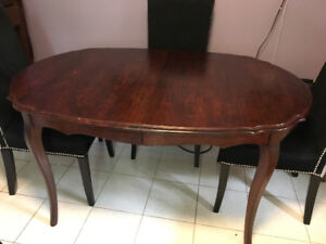 Solid Wood Dining Table (Chairs NOT included)