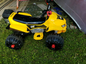 Cat 12V children's quad