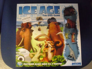 ice age dvd game and other items-please read description