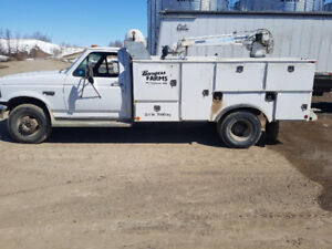 1996 Ford F450 Service Truck