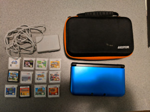 Nintendo 3DS XL, 13 games, cases, Disney Infinity  and Charger