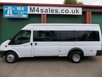 Ford Transit 430 17 Seat 135ps Euro 5 Minibus, Tacho. Aircon