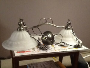 2 Lamp Ceiling Light