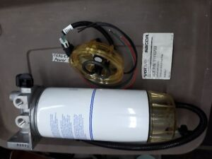 RACOR/VOLVO fuel filter water separator w/heated bowl NEW