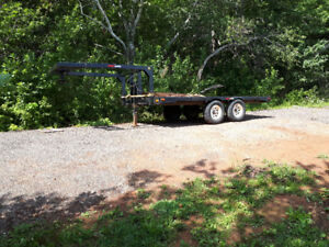 2014 5ft wheel trailer