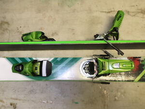 Skis- G3 Manhattans, w downhill bindings