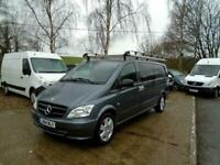 2014 (14) MERCEDES BENZ VITO 3.0 CDI AUTO + 6 SEAT + DUALINER SPORT Panel Van