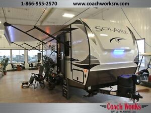 2017 Solaire 292QBSK Ultra-Lite Quad Bunk. Call today!