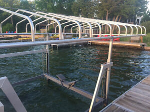 ☀ Boat lift, 4000lbs. NAYLOR, with Canopy ☀