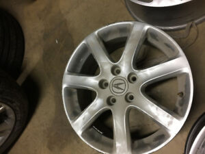 "17"" ACURA TSX WHEEL  - SINGLE RIM ONLY - 17X7 ET55"