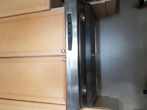 Stainless steal kitchen fan.