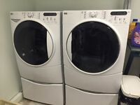 Front load washer dryer combo