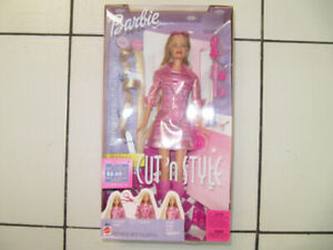 Classic Cut N Style Barbie Brand New In Original Package Cir2002