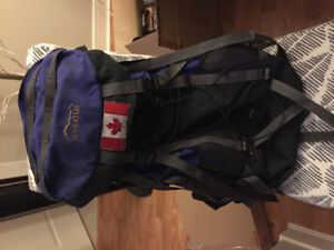 Serratus Backpack 80 litres with rain cover