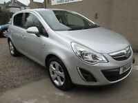 Vauxhall Corsa 1.2I 16V SXI A/C - ONLY 54699 MILES - BUY NOW PAY IN 6 MONTHS - (silver) 2011