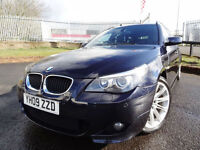 2009 BMW 520 2.0TD (177bhp) Touring M Sport Business Edition - KMT Cars