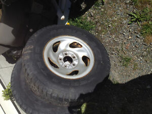 """Set of 4 - 16"""" Ford F 150 rims  plate silver rims -  $30 each St. John's Newfoundland image 2"""