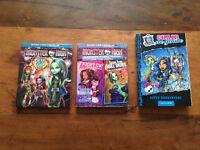 Livre et films Monster High