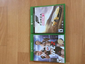 Forza Horizon 2 and UFC 2 for XBOX ONE only 10$ each