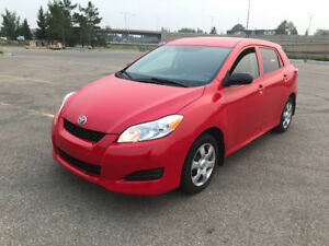 Low km's. Priced to sell. 2011 Toyota Matrix