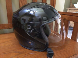"VCAN Copper Half-Face Road Motorcycle Helmet, Size ""L"""