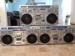 WANTED. BOOMBOX 1980's CLAIRTONE 7980 JVC M90 GHETTOBLASTER