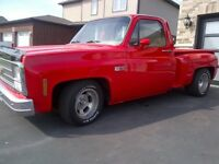 1980 Chevrolet C10 trade for Harley Bagger