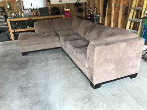 Sectional hide-a-bed