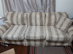 Selling couch and loveseat