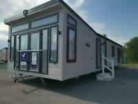 brand new 2020 6 berth top of the range static caravan for sale at Trecco Bay