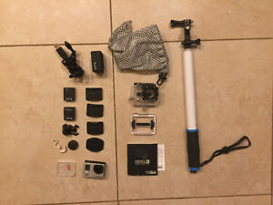 Gopro hero3 + accessories