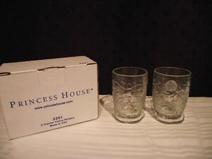 Princess House Crystal Votive/Tealight Holders (set of 2) Edmonton Edmonton Area image 1
