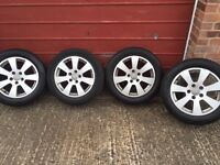 Audi A3 alloys good condition