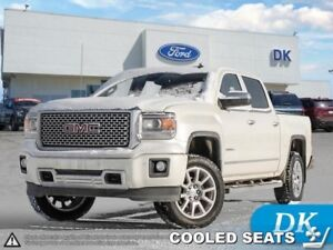 2014 GMC Sierra 1500 Denali Crew, 4WD w/Leather, Nav, and More!