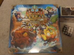 Board Game - Arcadia Quest: Riders Kickstarter