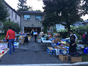 HUGE GARAGE SALE. ! CLEARING OUT BIG STORAGE UNIT! TODAY!
